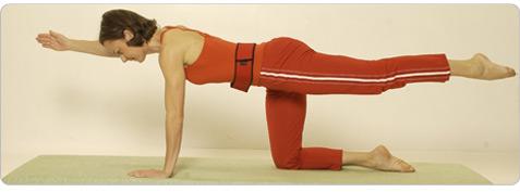 Atlas Pilates Übung