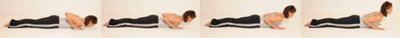 Baby Cobra Pilates Übung