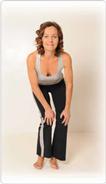 Geschmeidige Knie Pilates Übung