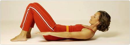 Kraftwerk Pilates Übung