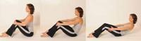 Mini-Roll-Down Pilates Übung