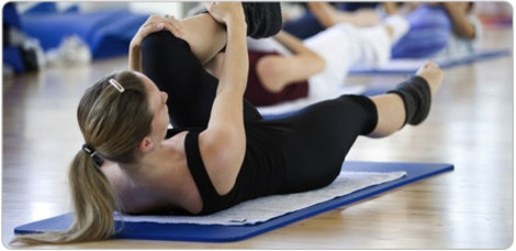 Training A für Anfänger Pilates Übungen