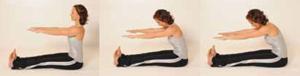 Spine Stretch Pilates Übung