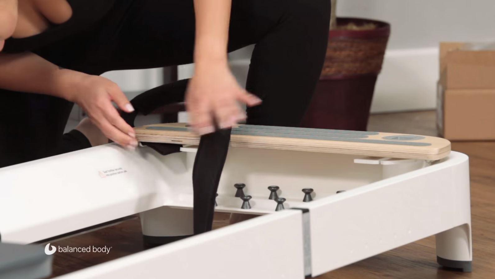 Allegro 2 installing foot strap
