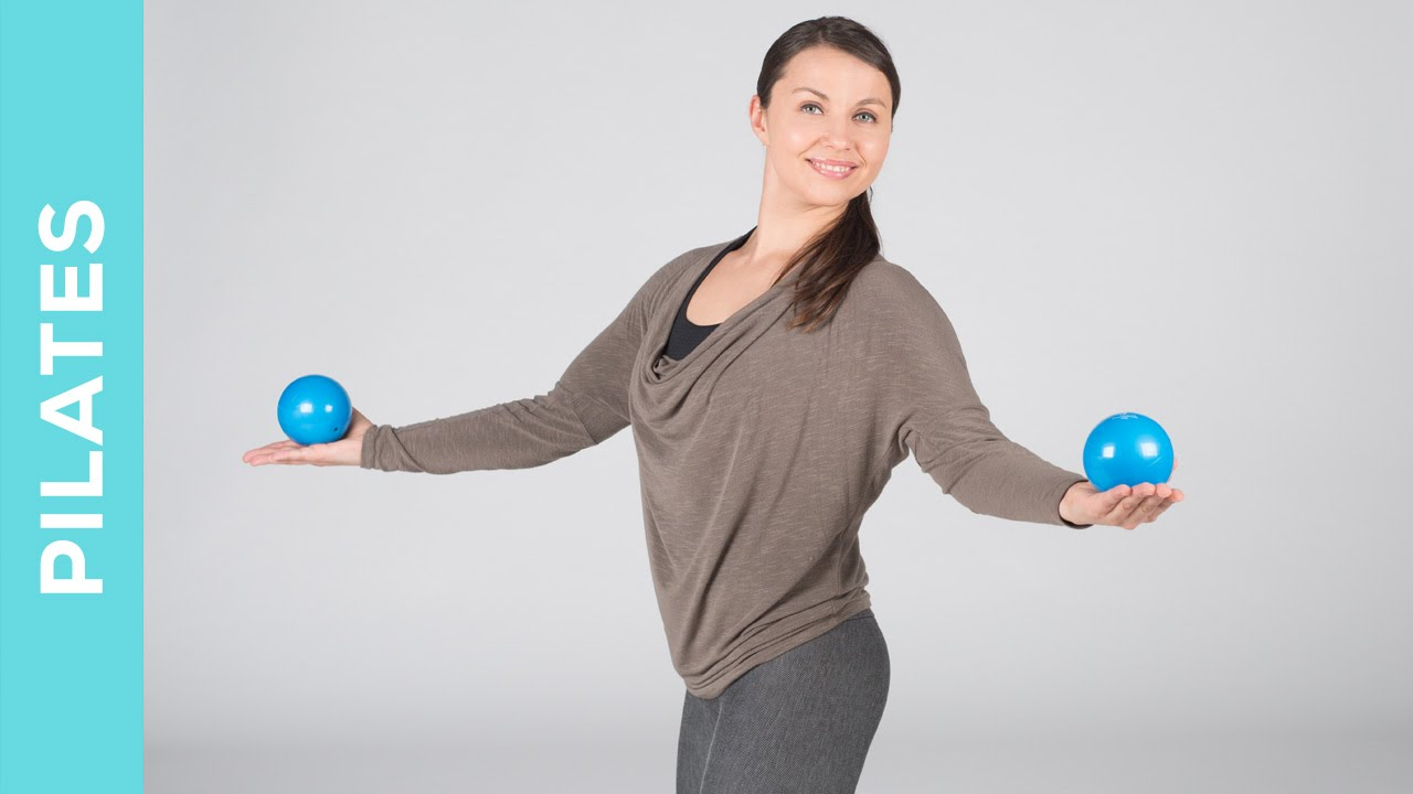 Basic Pilates Workout mit Toning Ball - Training für Anfänger - Fit mit Anna
