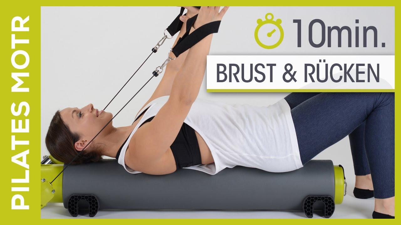 MOTR von BALANCED BODY - Pilates Workout für Brust & Wirbelsäule ( Anfänger)