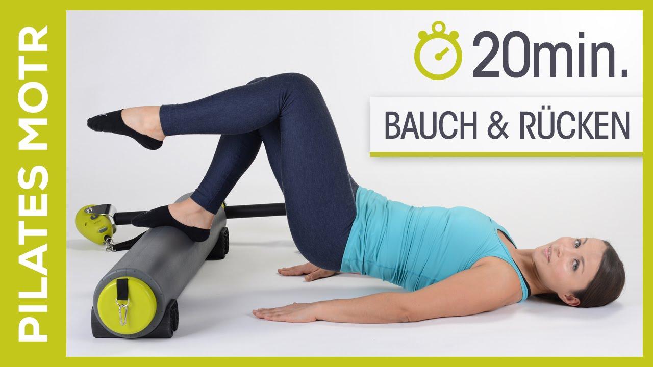 MOTR von BALANCED BODY - Pilates Workout für Bauch & Rücken ( Anfänger ) - Fit mit Anna