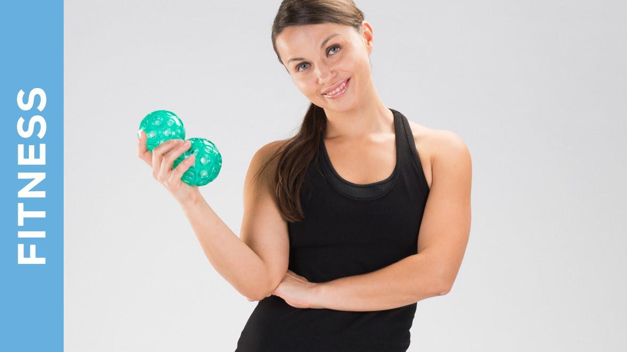 Fußmuskulatur & Gleichgewicht trainieren - Übungen mit Franklin Bällen - Fit mit Anna