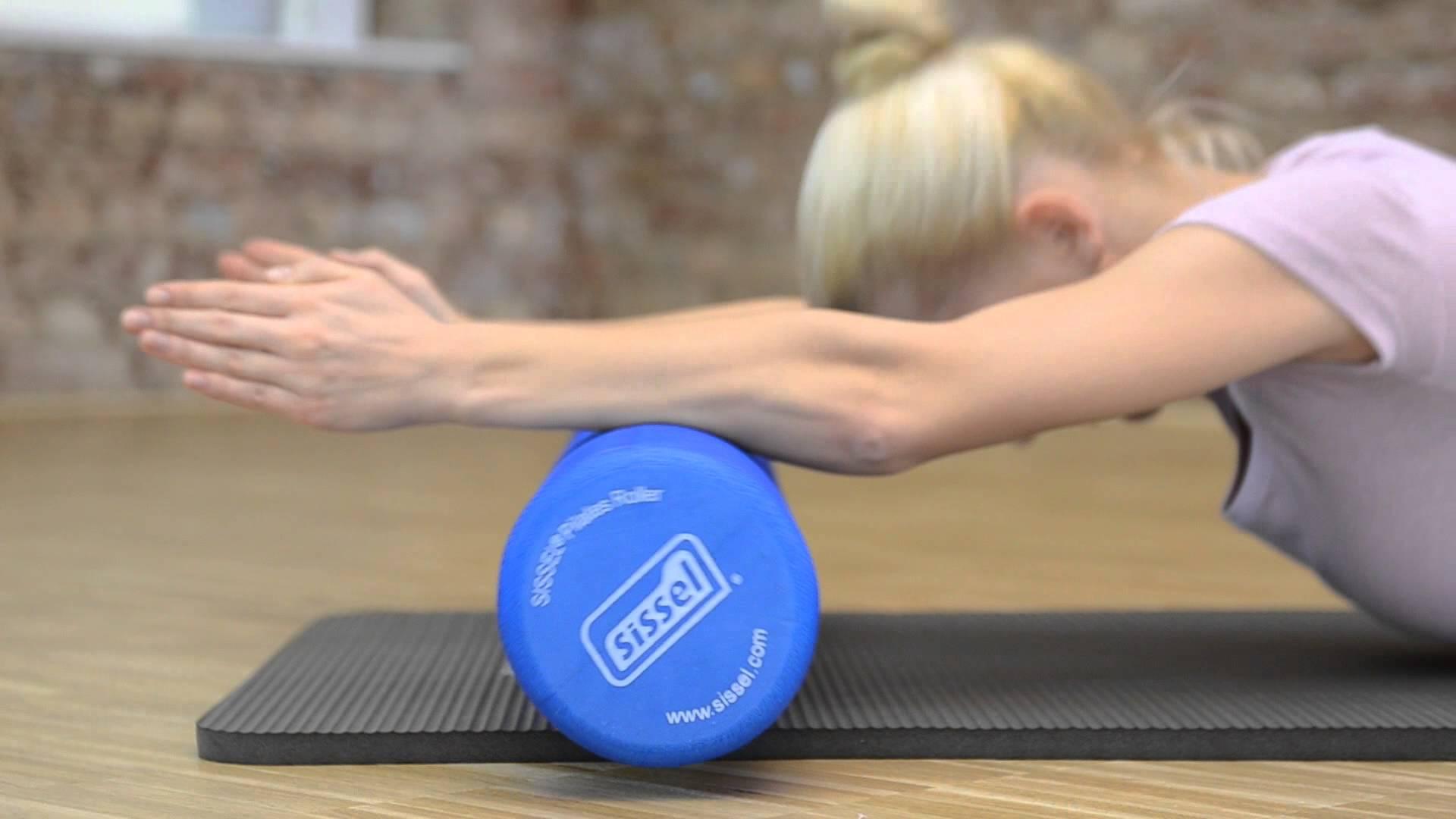 SISSEL® Pilates Roller Pro + Soft