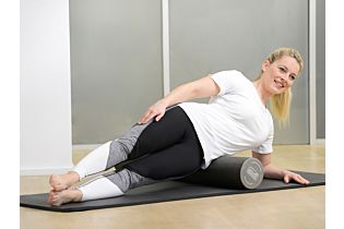 Pilates Stay@home Trainingskit, small, grau