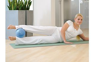 SISSEL Pilates Soft Ball blau