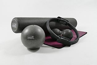 Pilates Stay@home Trainingskit, Large, grau