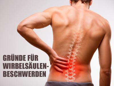 Infos über Wirbelsäule & Rückenschmerzen