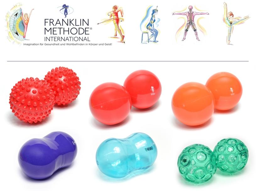 Übersicht der verschiedenen Franklin Bälle