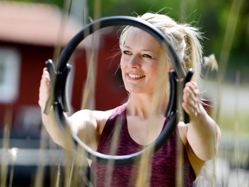 Pilates Circle - Übungen im Oerkörper- wie Beinbereich!