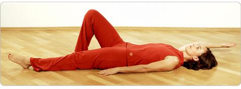 Balance Pilates Übung