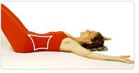 Bauchmuskeln Pilates Übung