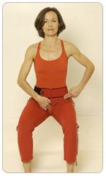 aktiver Beckenboden pilates Übung