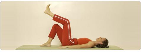 Fussmassage Pilates Übung