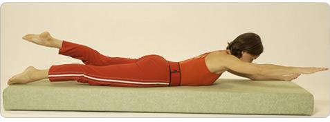 Glücksstern Pilates Übung