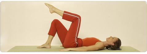 Hüfttonic Pilates Übung