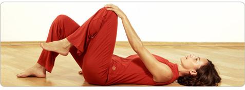 Kniekreisen Pilates Übung