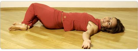 Rückenglück Pilates Übung