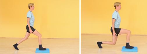 Gleichgewichts-Training