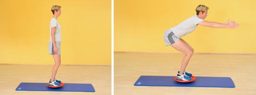 Übung: Squats